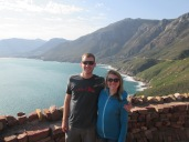 At the top of Chapman's Peak drive