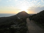Cape Point descent at sunset