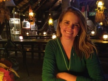 Jen at Joe's Beer House in Windhoek - that place is awesome!