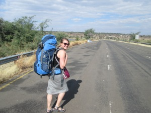 Walking 2+ km across the Namibia/Batswana border