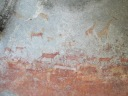 Cave painting, 1,500 - 3,000 yrs old at Matobo National Park