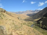 Giant's Castle ridge trail, Drakensberg