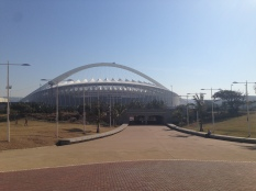 The 2010 Durban FIFA World Cup stadium from the promenade