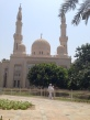 Jumeirah Mosque we visited in Dubai