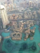 Looking down at the same Shouk from the top of the Burj Khalifa!
