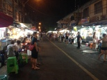 Night street food market in Thong Lo, Sukhumvit, Bangkok