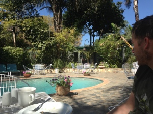 Our guest house in Bulawayo, Zimbabwe - we loved it there!