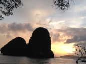 Sunset at Hat Phra Nang, Railay