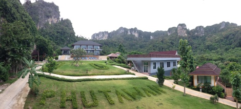 Our hotel in Railay