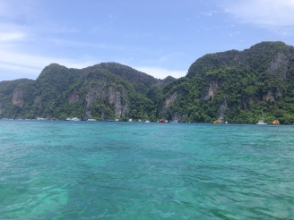 View coming into Koh Phi Phi