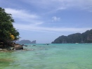 View from other side of peninsula from Long Beach, Koh Phi Phi