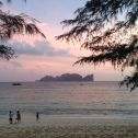 Sunset on Long Beach, Koh Phi Phi
