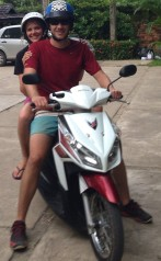 Motor biking around Koh Lanta