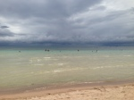 Same beach with approaching storm in Koh Tao