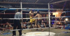 "Muay Thai match in Railay - all the islands had ""fight nights"""