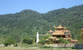 Temple on the island outside of Hoi An