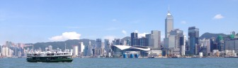 The famous star ferry, to get from HK to Kowloon - so cheap, yet such great views.