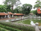 Pond within the Ho Chi Minh complex, buildings where he spent the last years working