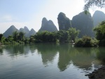 In the valley of the Yilong river, just outside of town