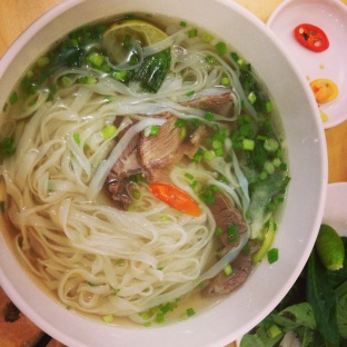 Pho! Even better in its country of origin.