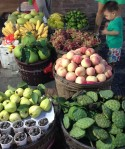 Fruit stand in Yangshuo