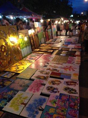 Sunday night market in Chiang Mai