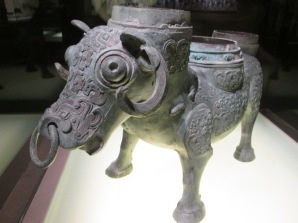 Ancient Chinese bronze masterpiece at the Shanghai Museum