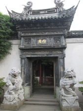 Garden in Yuyuan - lots of rocks, very pretty and cool