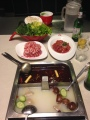 Hot pot dinner - yummy and so fun!!