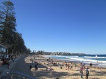 Manly beach, beautiful 30 min ferry ride from downtown Sydney