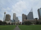 View from park outside the Art Gallery of New South Wales (NSW, state where Sydney is located)