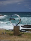 """Sculptures by the Sea"" exhibition, on the path along the coast from Bondi"