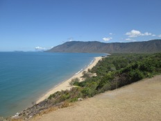 The beaches north of Cairns - beautiful, but in the summer season stingers are out so you can only swim in netted off, small sections.
