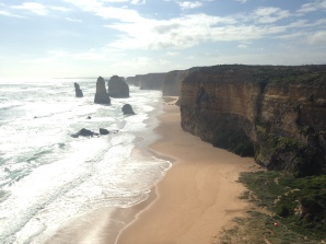Twelve Apostles in all their glory (and yes, there aren't even twelve, I think there are closer to 9 or 10)