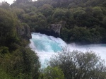Amazing falls in Taupo, given the power and volume of water flowing through