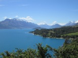 View approaching Glenorchy from Queenstown