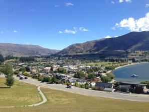 Overlooking Wanaka