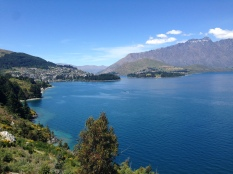 Queenstown and the Remarkables Mountain Range