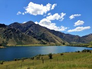 Moke Lake, outside of Queenstown. Next time will stay at the campsite here.