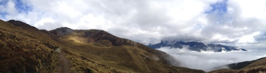 Pano on Mt Luxmore, Kepler Track