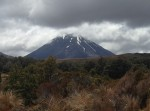 View from hike we did in Tongariro NP - all above treeline, this is the best view we got with the weather