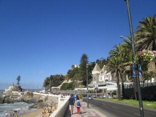 Coastal streets of Vina del Mar