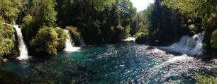 Bike to beautiful waterfalls outside of Pucon