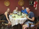 Best food we had in Mendoza, a cafe on a stop of our vineyard bike tour