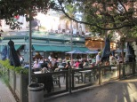 Beer garden / cafe in Buenos Aires