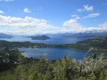 "View along the ""Small Circuit"" in Bariloche"