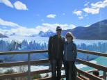 Viewing decks at Perito Moreno glacier