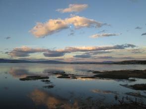 Lago Argentina, El Calafate, sunset