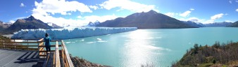 Perito Moreno glacier and lake