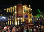 Old town Recife decked-out for Carnaval